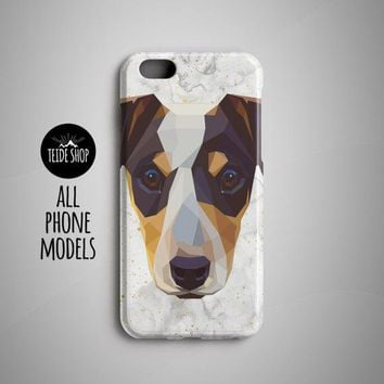 iPhone Case Geometric Jack Russell Terrier iPhone X Case iPhone 8 - Free Shipping