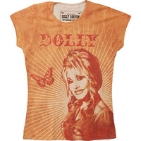 Dolly Parton  Butterfly & Rays Girls Jr Orange