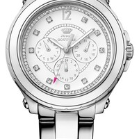Juicy Couture 'Pedigree' Two-Tone Multifunction Bracelet Watch, 42mm