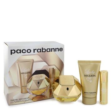 Lady Million Perfume By Paco Rabanne Gift Set FOR WOMEN