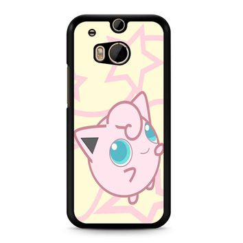 Pokemon Jigglypuff HTC M8 Case