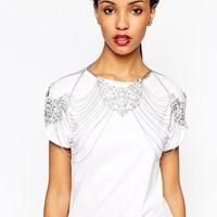River Island Regal Necklace Harness