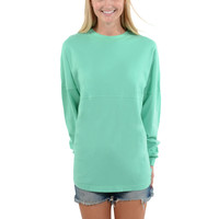 Women's Long Sleeve Football Tee