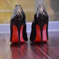 pumps spike red bottom shoes  number 1