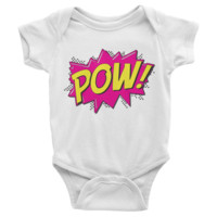 POW Infant short sleeve Onesuit