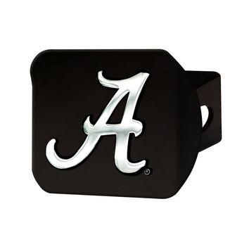 FANMATS University of Alabama Crimson Tide Black Hitch Cover - New!