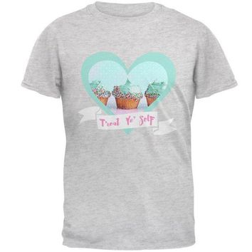 PEAPGQ9 Treat Yo Self Cupcakes Mens T Shirt