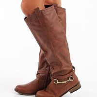The Anna Boot, Brown