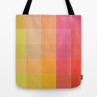 Colorquilt 1 Tote Bag by Garima Dhawan
