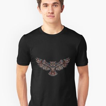 'Multic-owl' T-Shirt by Gamerama