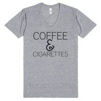 Coffee and cigarettes (The perfect combination.)-T-Shirt