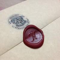 SALE Hogwarts Acceptance Letter Customizable Harry Potter -- PARCHMENT PAPER