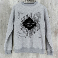 The Marauder's Map Shirt Harry Potter Shirt Sweatshirt Sweater Hoodie Hoodies Unisex