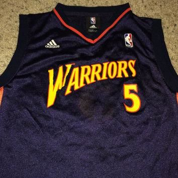 Sale!! Vintage Adidas GOLDEN STATE WARRIORS Basketball Jersey NbA Shirt