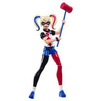 DC Super Hero Girls' Harley Quinn 6-Inch Action Figure : Target