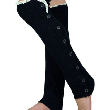 Lounge Leg Warmer Black