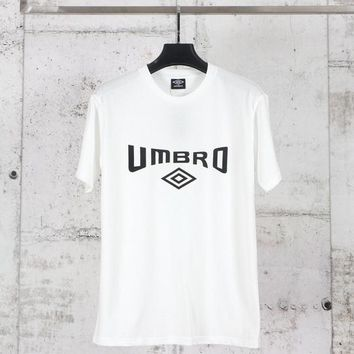 HCXX FIFA Umbro Short Sleeved T-Shirt White