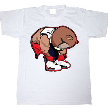 Eyes on My Kicks Clothing Bear Ties Infrared 6 Low's Tee
