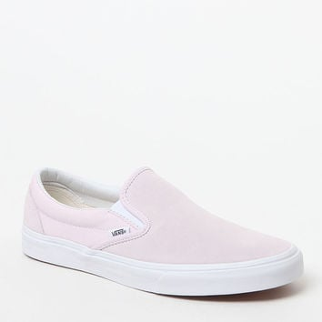 Vans Suede and Canvas Orchid Slip-On Shoes at PacSun.com