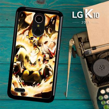 Pokemon Charizard Infernape Z0656 LG K10 2017 / LG K20 Plus / LG Harmony Case