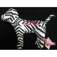 Victoria Secret  Zebra Print Mini Dog