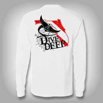 Dive Deep - Performance Shirt - Fishing Shirt
