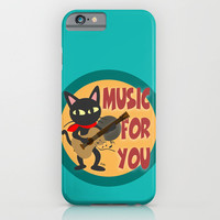 Music for you iPhone & iPod Case by BATKEI