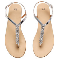 H&M Sandals with Rhinestones $24.95