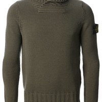 Stone Island roll neck sweater