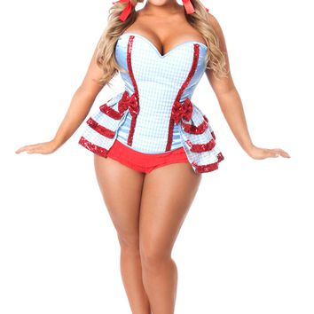 Lavish Premium Kansas Girl Corset Costume
