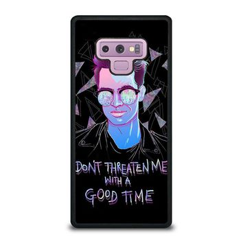 PANIC AT THE DISCO BRENDON URIE Samsung Galaxy Note 9 Case