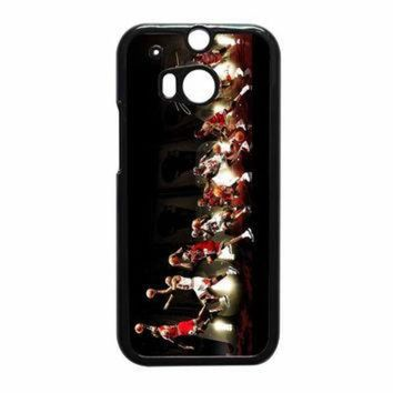 CREYUG7 Michael Jordan NBA Chicago Bulls Dunk HTC One M8 Case