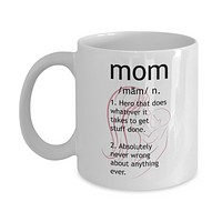 Mom Hero Mother's Day Gift Coffee Mug