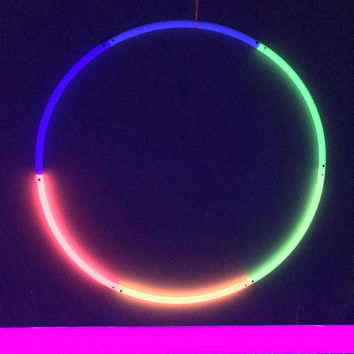 UV Rainbow Travel Polypro Hoop