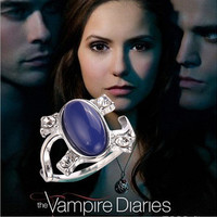 2015 new arrival free shipping Vampire Diaries Elena anti-Sun retro rings for women