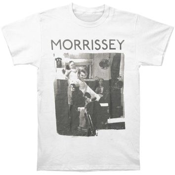 Morrissey Men's  Barber Slim Fit T-shirt White
