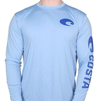 Performance Core Long Sleeve T-Shirt in Carolina Blue by Costa Del Mar