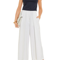 Alice + Olivia Cropped stretch-jersey top – 50% at THE OUTNET.COM