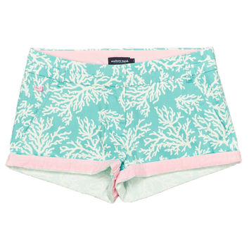 The Brighton Printed Reef Short in Antigua Blue by Southern Marsh