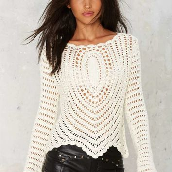 The Mission Crochet Sweater