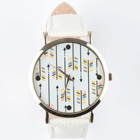Arrow Face Watch White One Size For Women 25773215001