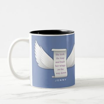 Personalized Inspirational Quote Mug