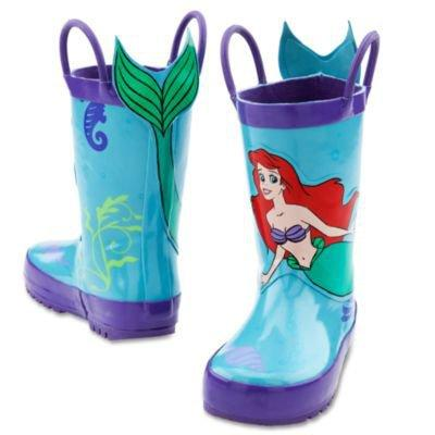 Ariel Rain Boots For Girls Shoes From Disney Store