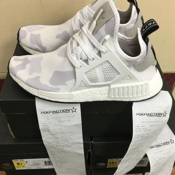 Adidas NMD XR1 Nomad White Duck Camo BA7233 100%AUTHENTIC W/Receipt Size 7.5~13