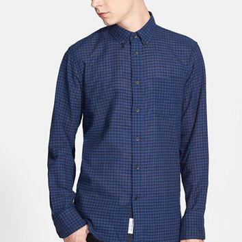 Men's rag & bone Trim Fit Gingham Shirt,