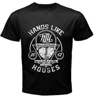 hand like houses T-shirt Size S, M, L, XL, 2XL, 3XL, 4XL, and 5XL