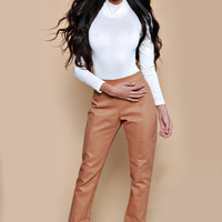 Camel Highwaist Trousers