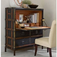 Ludlow Trunk Secretary Desk