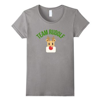 Team Rudolph The Red Nose Reindeer Christmas T-shirt