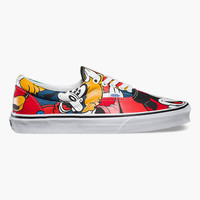 Vans Disney Mickey & Friends Era Shoes Multi  In Sizes